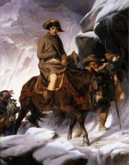 Franse god van de oorlog Napoleon Bonaparte