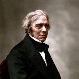 Michael Faraday beeld