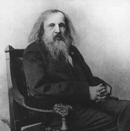 Dmitry Mendeleev beeld